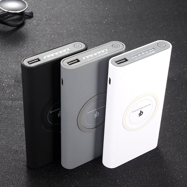 Go Anywhere Portable Device Charger 5000 mAh White