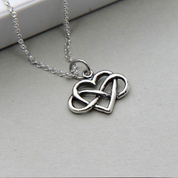 Thanks for Being My Unbiological Sister Friendship Necklace Without card necklace gold