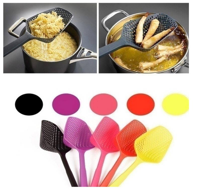 Large Heat Resistant Scoop Plus Colander