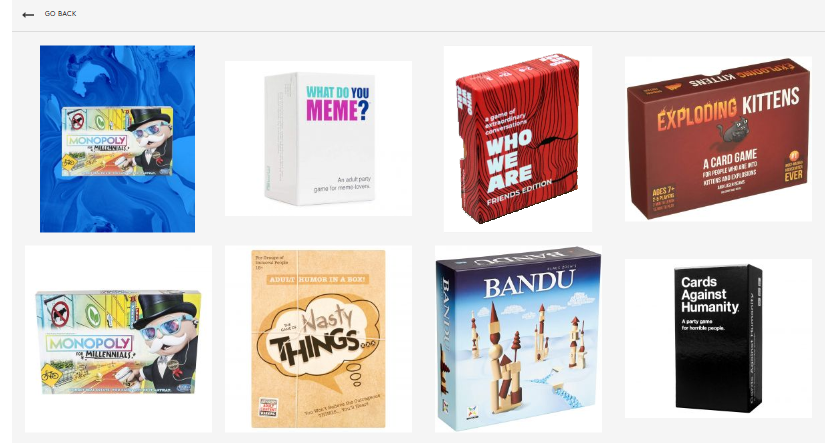 In good company with Exploding Kittens, Cards Against Humanity and What Do You Meme?