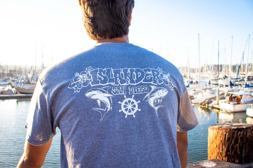 Islander 'Shark & Tuna' T-shirt