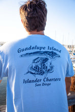 Load image into Gallery viewer, Islander 'Guadalupe Shark Cage' T-shirt