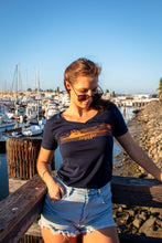 Load image into Gallery viewer, Islander Women's 'Guadalupe Sunset' T-shirt