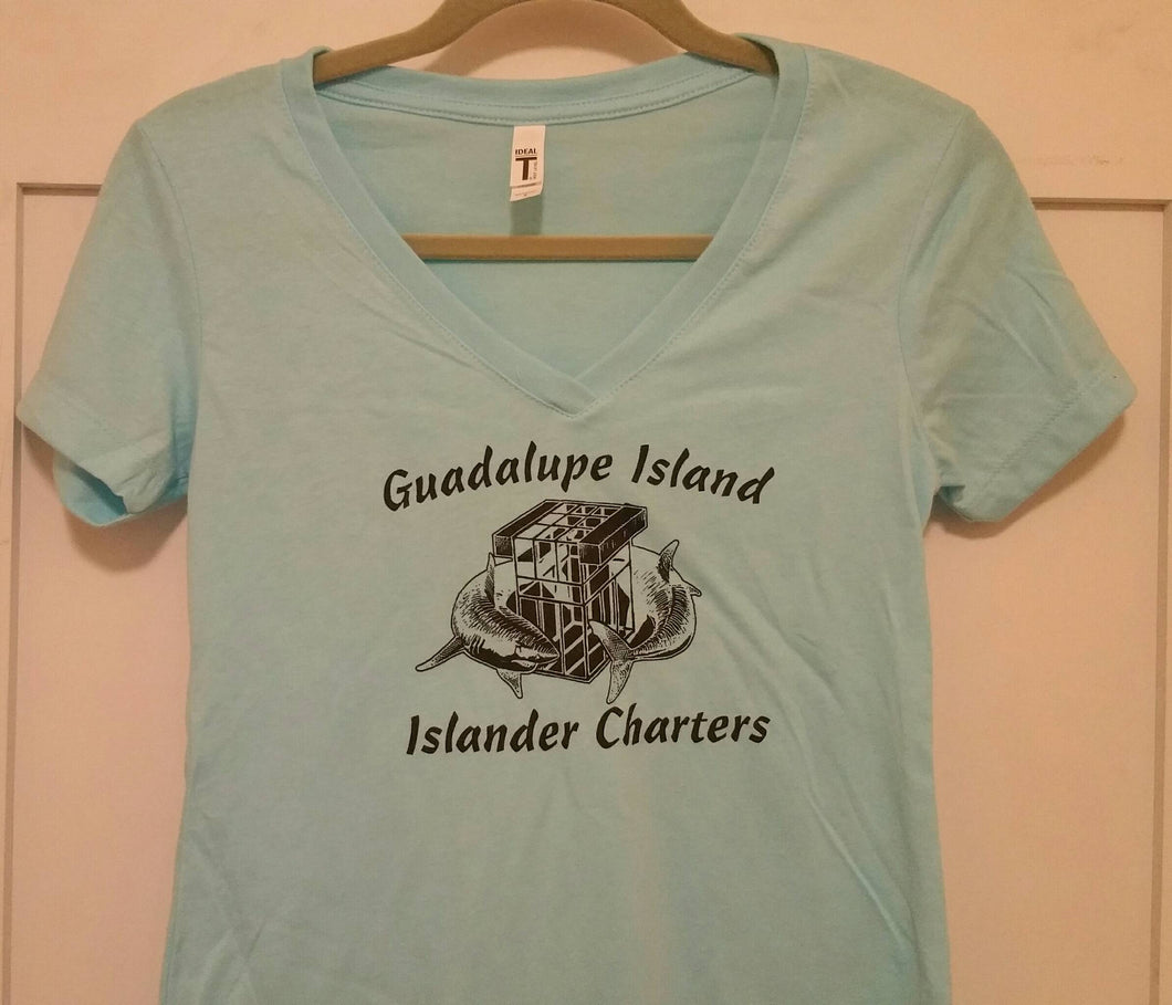 Islander Women's 'Guadalupe Shark Cages' T-shirt