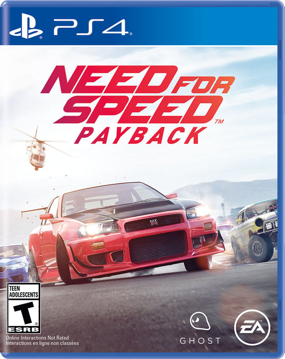 Need for Speed Payback, Electronic Arts, PlayStation 4, 014633735222 - Shop Video Games