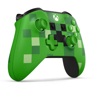 Microsoft Xbox One Wireless Controller, Minecraft Creeper - Shop Video Games
