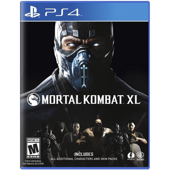 Warner Bros. Mortal Kombat XL for PlayStation 4 - Shop Video Games