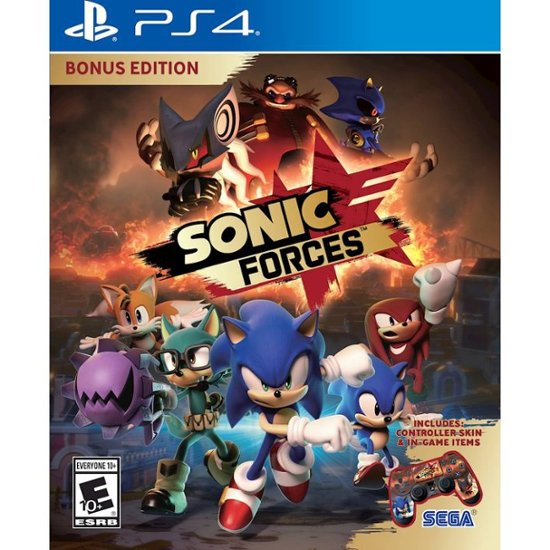 Sonic Forces: Standard Edition - Playstation 4 - Shop Video Games