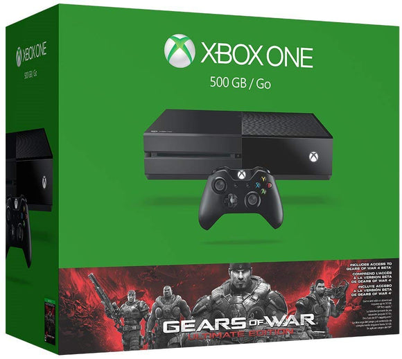 Xbox One 500GB Console - Gears of War: Ultimate Edition Bundle - Shop Video Games