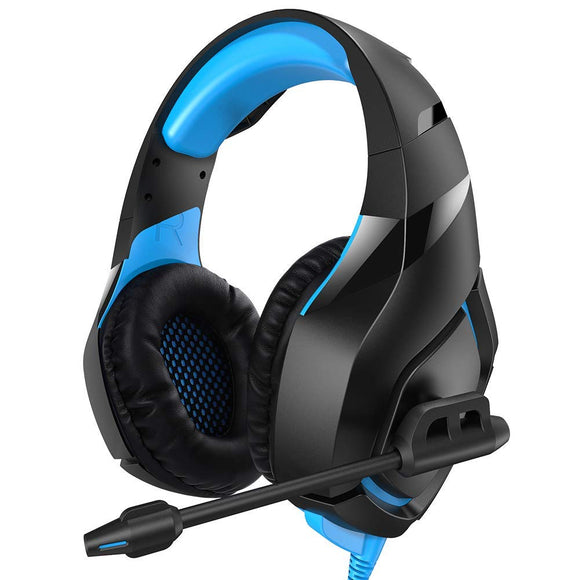 RUNMUS Gaming Headset PS4 Headset with 7.1 Stereo Surround Sound, Xbox One Headset with Noise Canceling Mic, Works on PC, PS4, Xbox One (Adapter Needed) - Shop Video Games