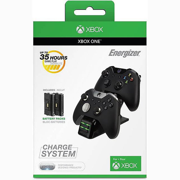 Microsoft licensed Energizer 2X Charging System for Xbox One New Free 2 Day Ship - Shop Video Games