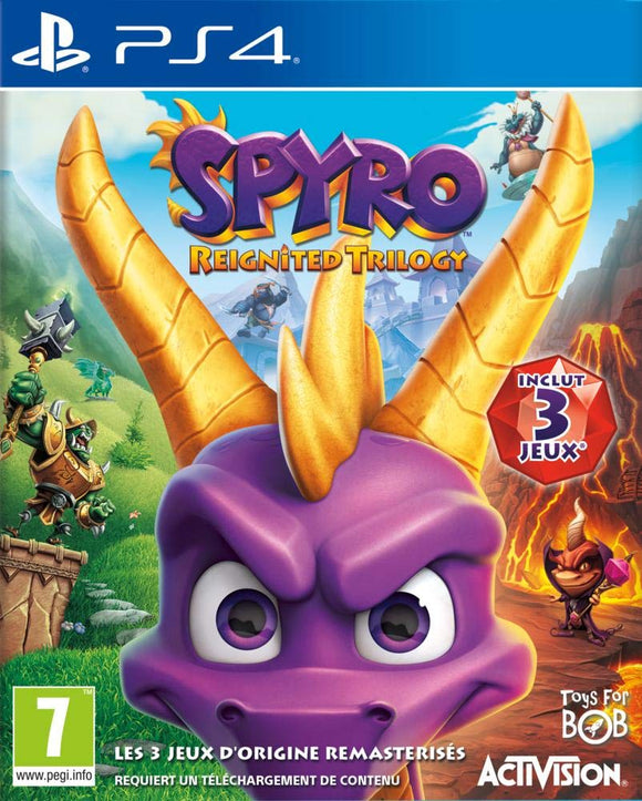 Spyro Trilogy Reignited (PS4) - Shop Video Games
