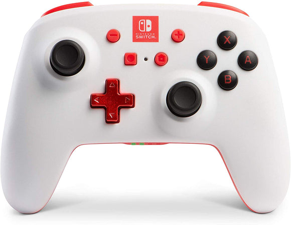 PowerA Enhanced Wireless Controller for Nintendo Switch - White - Nintendo Switch - Shop Video Games
