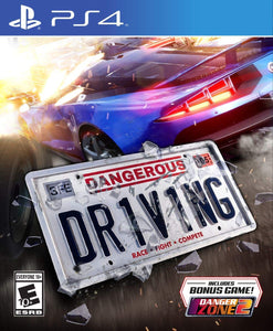 Dangerous Driving (PS4) - PlayStation 4 - Shop Video Games