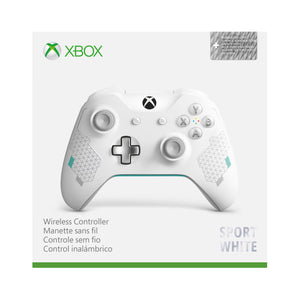 Microsoft Xbox One Wireless Controller, Sport White Special Edition, WL3-00082 - Shop Video Games