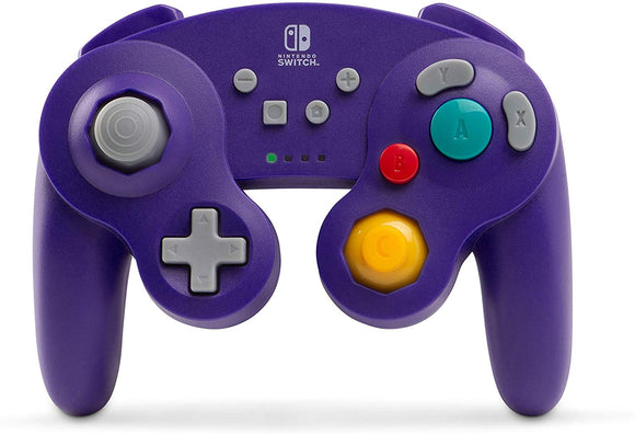 PowerA Wireless Controller for Nintendo Switch - GameCube Style Purple - Nintendo Switch - Shop Video Games