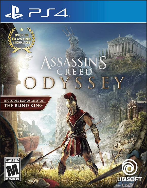 Assassin's Creed Odyssey - PlayStation 4 Standard Edition - Shop Video Games