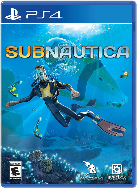 Subnautica - PlayStation 4 - Shop Video Games