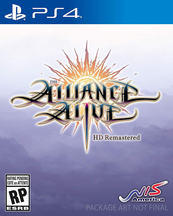The Alliance Alive HD Remastered - PlayStation 4 - Shop Video Games