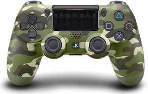 DualShock 4 Wireless Controller for PlayStation 4 - Green Camouflage - Shop Video Games