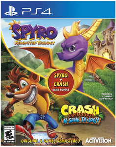 Spyro Crash Remastered Bundle - PlayStation 4 - Shop Video Games