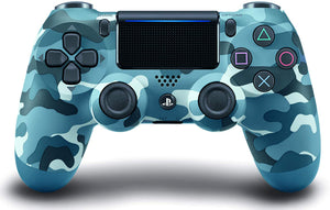 DualShock 4 Wireless Controller for PlayStation 4 - Blue Camouflage - Shop Video Games