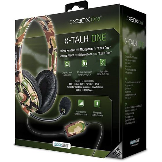 DreamGear X-Talk Wired Headset: Camo for Xbox One - Shop Video Games