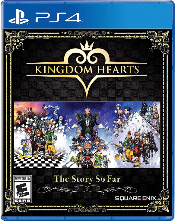 Kingdom Hearts The Story So Far - PlayStation 4 - Shop Video Games