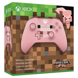 Microsoft Xbox One Wireless Controller, Minecraft Pig, WL3-00052 - Shop Video Games