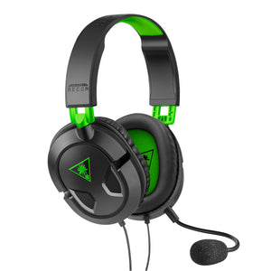 Turtle Beach Recon 50X Gaming Headset for Xbox One, PS4, PC, Mobile (Black) - Shop Video Games