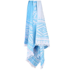Honolulu Jacquard Beach Towels - 100% Turkish Cotton Fast Drying Stylish - San Diego