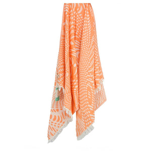 Key West Jacquard Beach Towels - 100% Turkish Cotton Fast Drying Stylish - San Diego