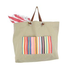 Cannes Beach and Pool Bags - 100% Turkish Cotton Multi-purpose - San Diego