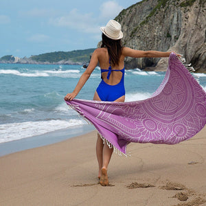 Datcha (Mandala) Beach Towels - 100% Turkish Cotton Stylish Multi-purpose - San Diego
