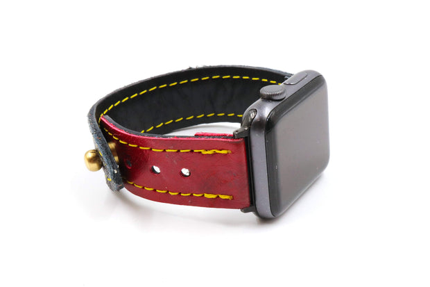 Red Alert Collection Black/Red iWatch Band
