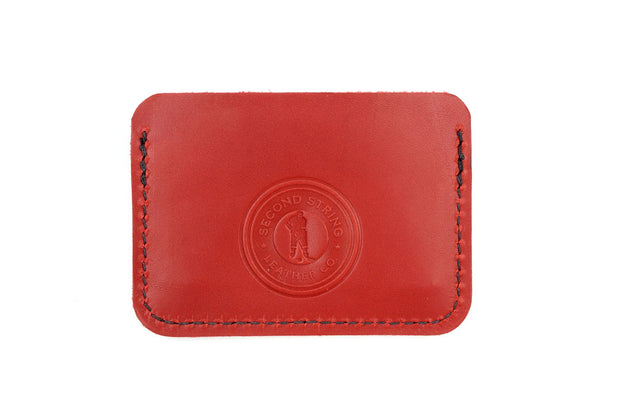 Cooper Red/White 3 Slot Wallet