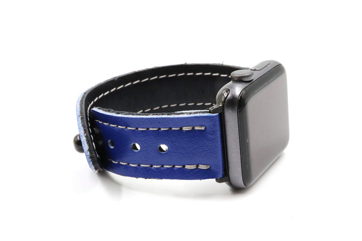 Blue Lightning Blue/Blue iWatch Band