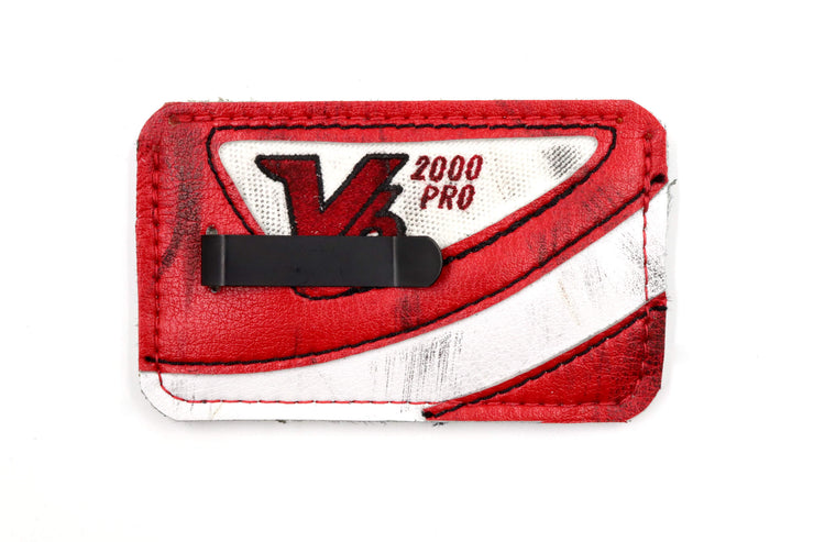 Winged Wheel Blocker Collection 3 Slot Money-Clip
