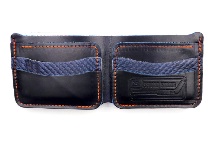Long Island Star Collection 6 Slot Bi-Fold Wallet
