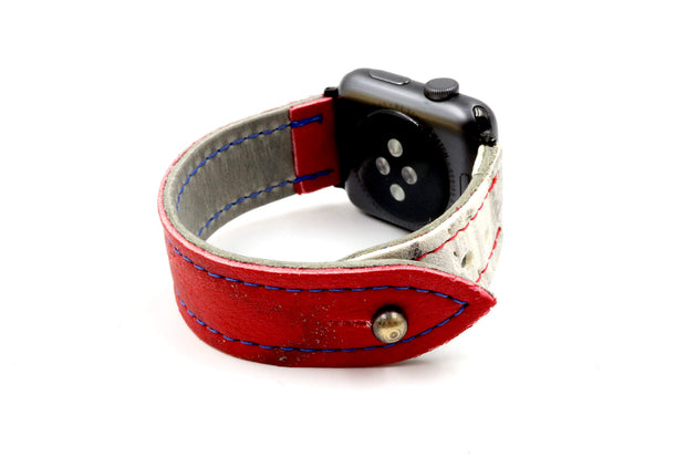 Revolution Red/White iWatch Band