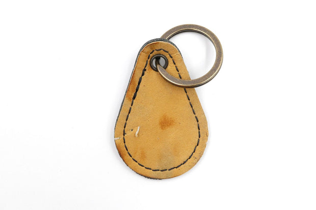 Silver Lining Collection Brown Keychain