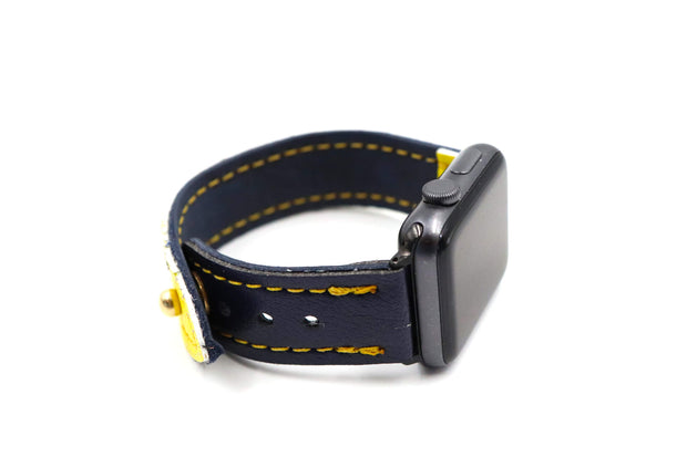 Claw Collection Maize/Blue iWatch Band
