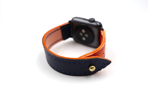 Visionary Collection Blue/Orange iWatch Band