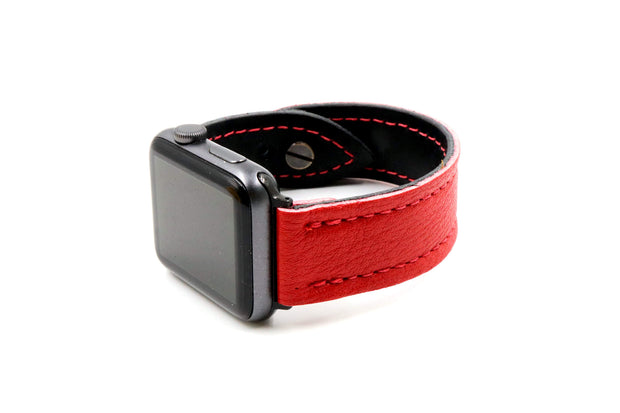 Brian's Beast Red/Black iWatch Band