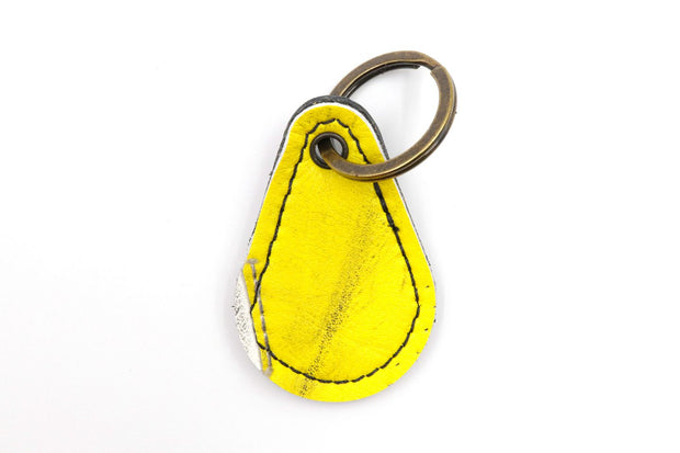 Silver Lining Collection Yellow/White Keychain