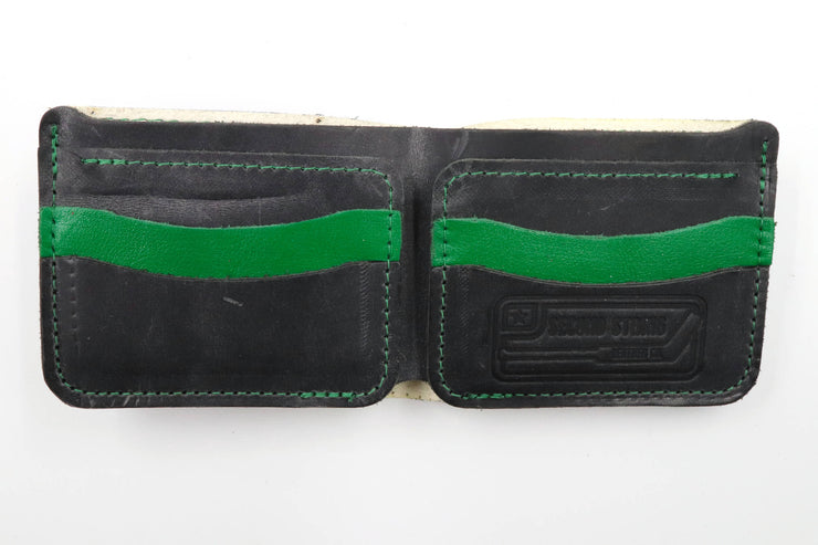 Killer Whale Collection 6 Slot Bi-Fold Wallet
