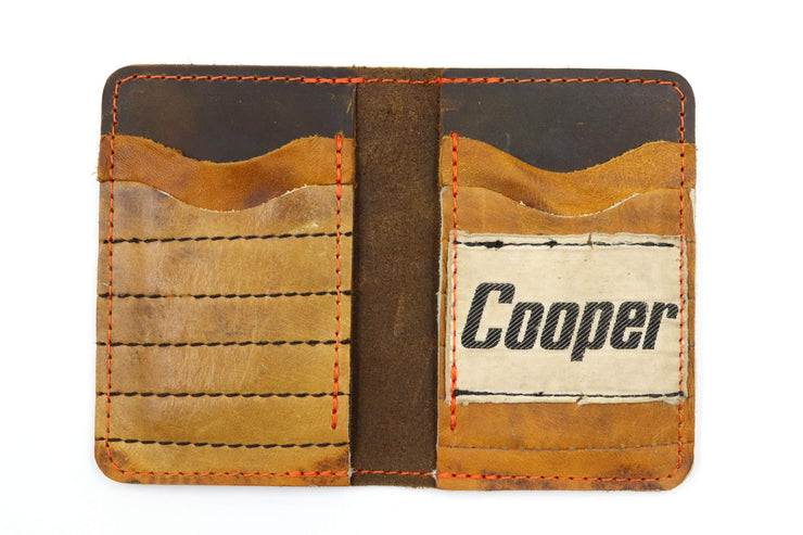 Cooper GM12 Jr Glove Vintage 6 Slot Wallet