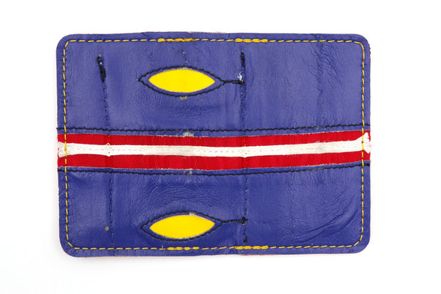 The Blues 6 Slot Wallet