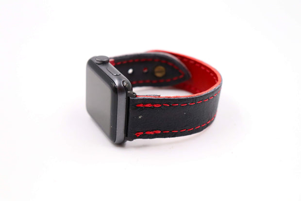 Checker Board Pro Series Black/Red iWatch Band