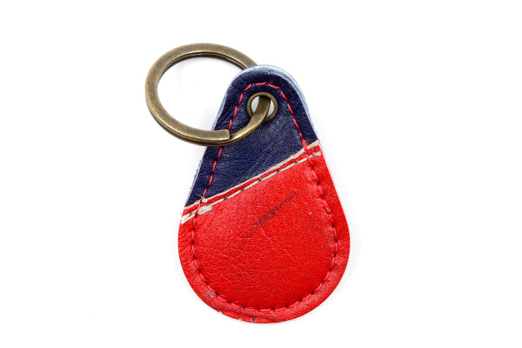 Zilla Collection Red/Blue Keychain